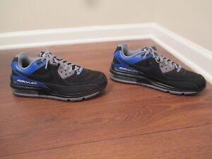 Max Gray Wright Used Air Blue Nike White 5 Worn Shoes Black Size 11 4nPAYq