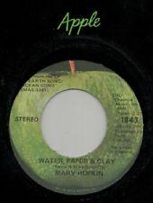 "Mary Hopkin - Water Paper & Clay - Apple 7"" 45"