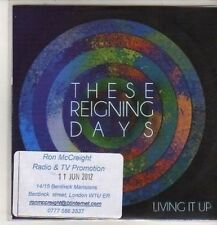 (DB528) These Reigning Days, Living It Up - 2012 DJ CD