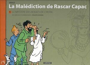 Herge-La-malediction-de-Rascar-Capac-Le-mystere-des-boules-de-cristal-P-Goddin