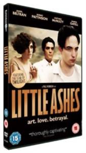 Robert-Pattinson-Javier-Be-Little-Ashes-DVD-NUOVO