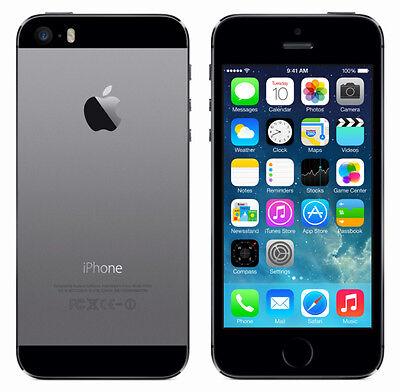 APPLE IPHONE 5S 32GB SPACEGRAU - SIMLOCKFREI OHNE VERTRAG - SMARTPHONE GEBRAUCHT