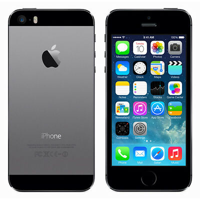 APPLE IPHONE 5S 16GB SPACEGRAU SIMLOCKFREI OHNE VERTRAG TOP-ZUSTAND SMARTPHONE