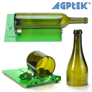 Ajustable DIY Glass Bottle Cutter Machine Recycles Wine Bottles Metal Tool Kit
