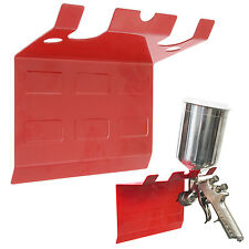 Magnetic Paint Spray Gun Holder Stand 5 Gravity Siphon Feed HVLP Air Hose Booth