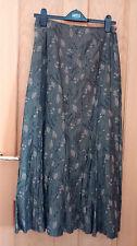 BNWOT Marks & Spencer Per Una Green Crinkle Skirt Size 10R *Read Description*