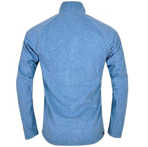 Adidas Reachout 1//2 Zip Polar Fleece Pullover Herren Wandern Outdoor Jacke blau