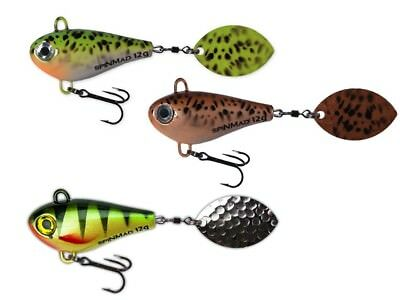 trout // COULEURS asp pike zander Spinmad Jag // Spinning Tail // 35mm // perch