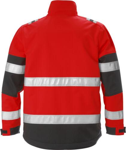 Warnschutz 2 4083 WYH Gr.M Fristads Kansas 125024 High Vis Softshell-Jacke Kl