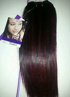 Human Hair Blended Premium Yaki/weaving /hair Topic/10/straight/soft & Natural