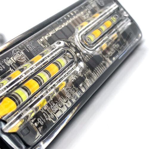Directional,12 LED Super Bright DUAL COLOUR LED Warning Light UK Grill