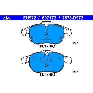 Saab 9-3 ATE Ceramic Rear Disc Brake Pad Set LD7195 31341331 New