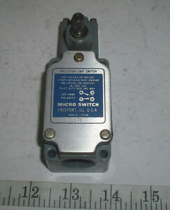 Honeywell 6LS3 Micro Precision Limit Switch 10 Amps 600 VAC NOS