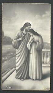 image pieuse ancianne de Jesus santino holy card estampa FJxuVfrP-09164655-351596925