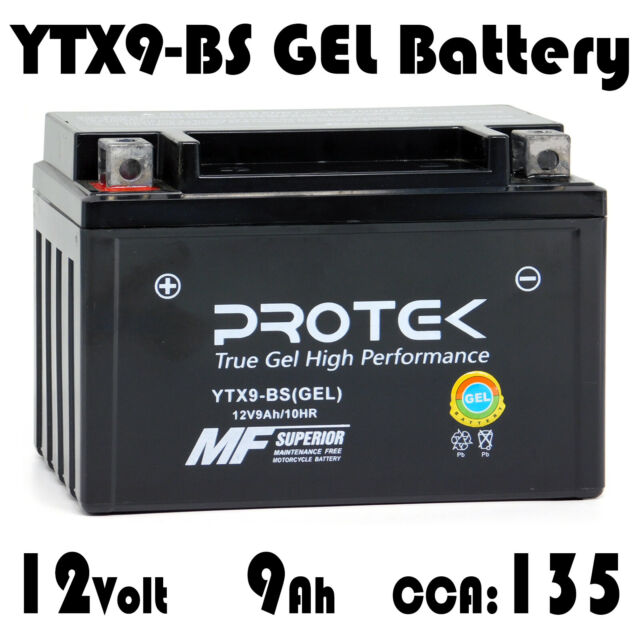 JMT LITHIUM-ION Batterie ytx9-bs SUZUKI RF 900 R