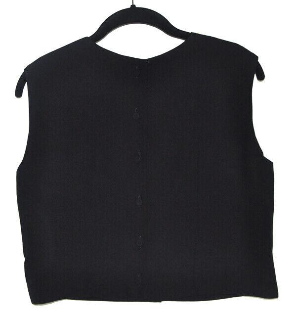 Vintage MorLove The Couturier Blouse Black Sleeve… - image 5