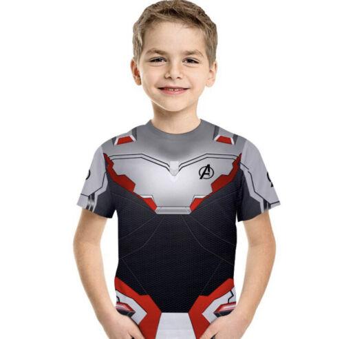 Avengers Endgame Unisex Kids Pullover Cosplay Tee T-Shirt Tops