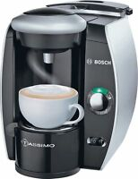 Tassimo By Bosch T40 Fidelia Multi Drinks Machine - Silver With An Intelligent