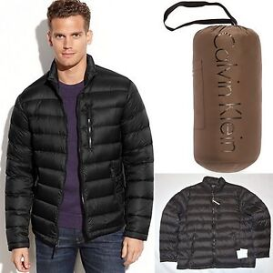 Calvin Klein winter down slim coat Lightweight Packable Puffy ...