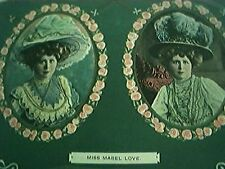 postcard used actress miss mabel love 301 frank old