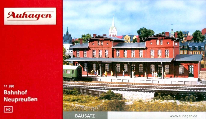 Auhagen 11380 11380 11380 H0 - Bahnhof   Neupreußen   NEU & OvP  | Wirtschaft  627c5c