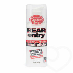 REAR-ENTRY-Anal-Glide-Lube-Lubricant-Numb-Numbing-Cream-Gel-96g-AUS-SELLER