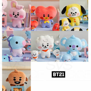 BTS BT21 Official Authentic Goods Mini Body Cushion Baby Ver + Tracking Number