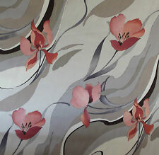 Crowson SILHOUETTE cotton satin fabric 54 inches wide BY THE METRE Scotchgard