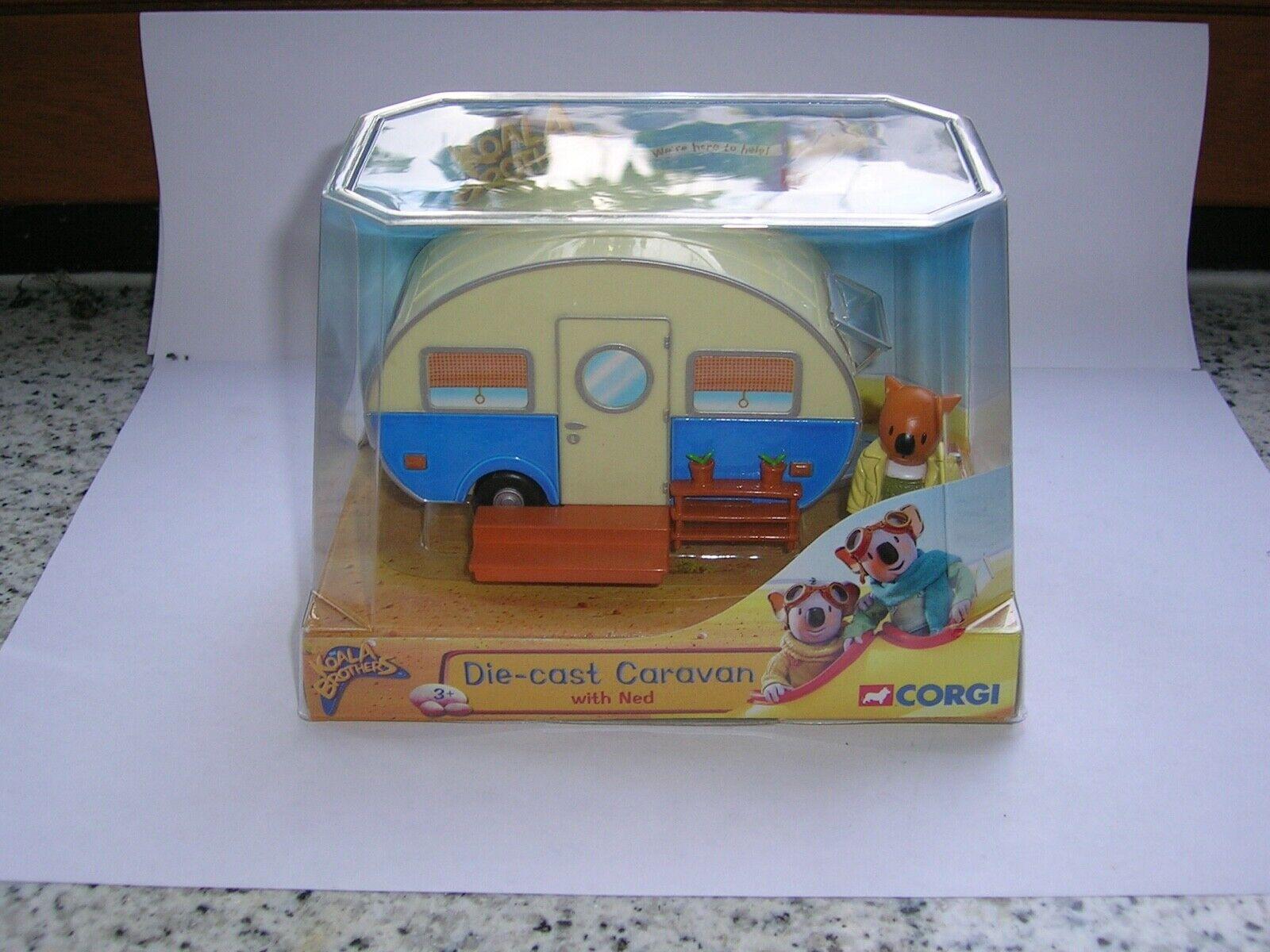 Corgi Toys Koala Brothers Die-Cast Caravan-new,OSS,FREE INTL.SHIPPING