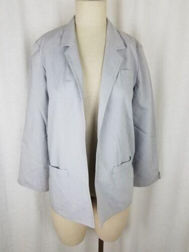 Wrap Of Jacket Gray Prestige Front 10 Swing Boston Open Womens Vintage Blazer FYPT5qq