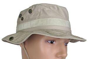 b8167bf4c1c68 Image is loading Military-Uniform-Supply-Boonie-Hat-KHAKI-Lightweight -Military-