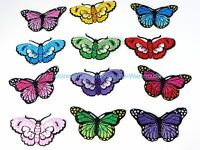 Iron On Patches Cheap Wholesale Lot Of 12 Butterfly Embroidery Iron On Patch
