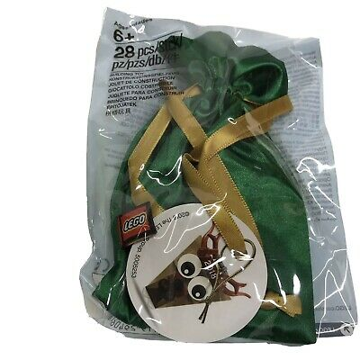 LEGO 5005253 Christmas Tree Ornament Bag with Reindeer polybag NEW//SEALED