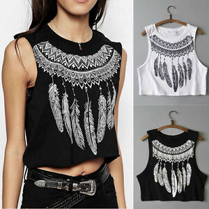 Fashion-Women-Summer-Vest-Sleeveless-Shirt-Casual-Blouse-Short-Tank-Top-T-Shirt