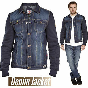 220879b7675 Branded Men s Denim Jean Jacket Classic Western Style Duke Curtis ...