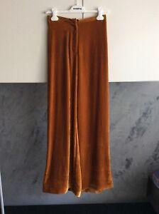 Vivetta Tg In velluto Pantaloni Curry 40 Colore CfCxSOwq