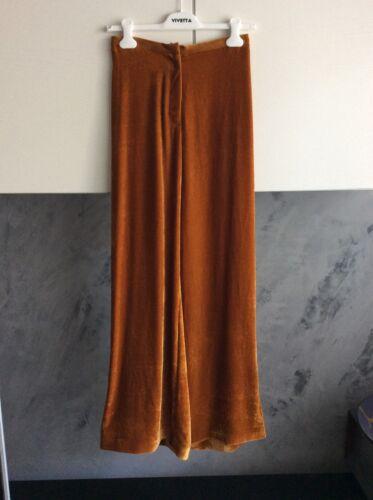 velluto Vivetta Pantaloni Curry Colore In 40 Tg R4p7FA4Y