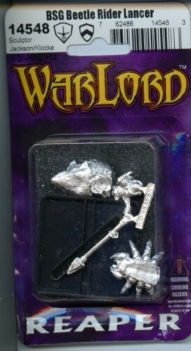 Reaper Warlord Bloodstone Gnome Beetle Lancer MINT #14548 Metal