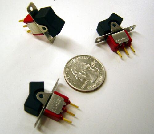 C/&K 7101  ON ON Mini Rocker SPDT  NOS Lot of 5