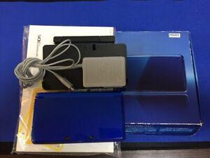 P6689-Nintendo-3DS-Cobalt-Blue-console-Japan-N3DS-w-box-DHL