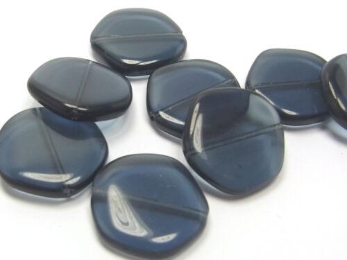 19 mm disco 10 x Kaden cuentas de vidrio Montana; * 2516
