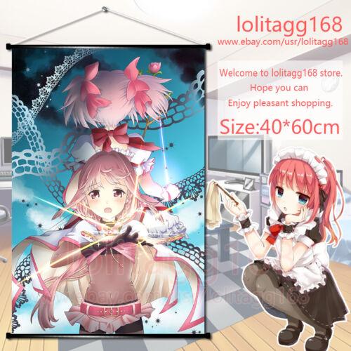 Anime Wall Scroll Poster Magia Record Tamaki Iroha Kaname Madoka Home Decor Gift