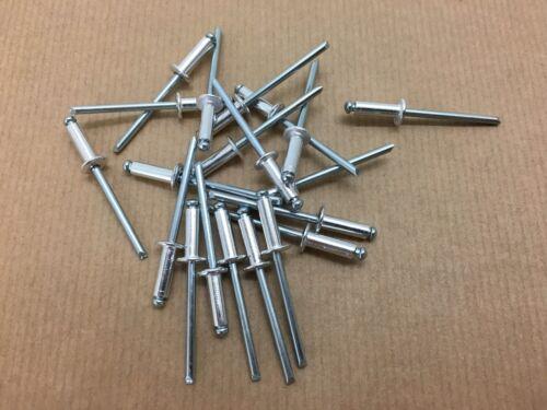 Lot de 50 rivet alu/acier, 4x8 / 4x10 / 4x12