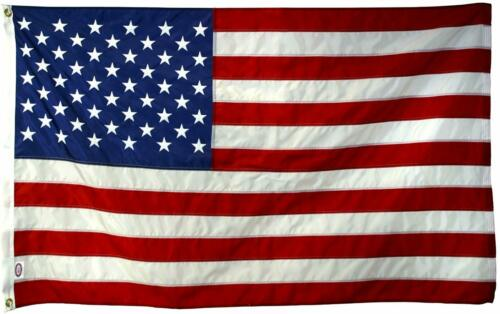 Huge USA 10x15 Ft US American Flag Sewn Stripes//Embroidered Stars//Brass Grommets