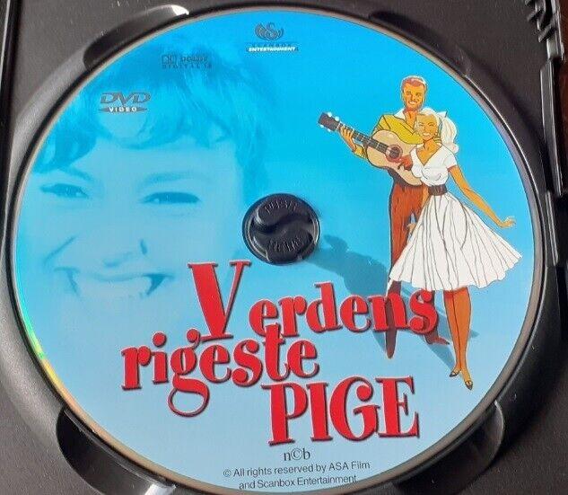 VERDENS RIGESTE PIGE - DANSK FILM, instruktør Lau