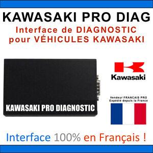 KAWASAKI-PRO-DIAG-Diagnostic-MOTOS-QUADS-JET-SKI-KAWASAKI-Francais-Integral