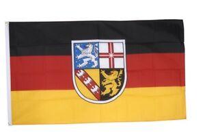 Fahne Deutschland Saarland Flagge saarländische Hissflagge 90x150cm