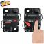30A AMP Marine Car Circuit Breaker IP67 Waterproof 12V 24V Panel Mount Reset US