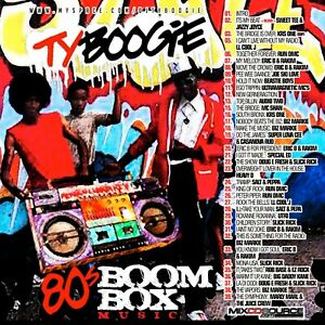 DJ-TY-Boogie-80-039-s-Boom-Box-Music-NYC-Old-School-Throwback-Mixtape-Mix-CD-Hip-Hop