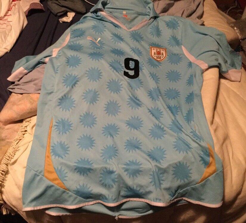 URUGUAY Calcio Camicia  9 SUAREZ XL